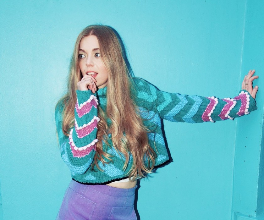 """Check out Becky Hill's bangin' new single, """"Back To My Love"""" featuring budding UK MC talent, Little Simz."""