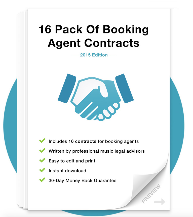 Live Work (16 Contracts for Venues, Agents and Touring Artist)