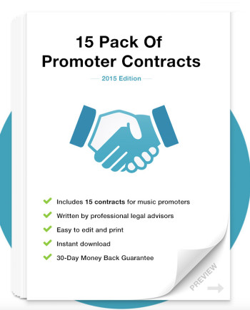 Music Contract Packages for Producers, Promoters  Labels Music