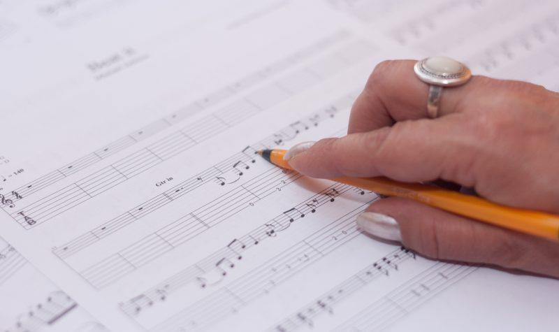 Free blank sheet music Music Mark
