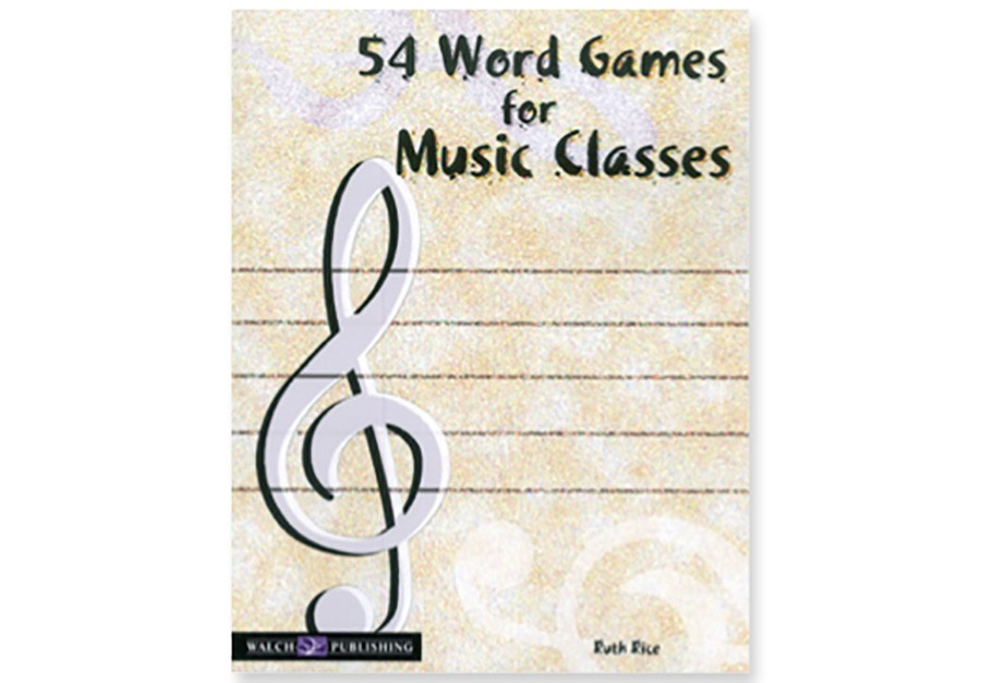 Music in Motion 54 WORD GAMES for MUSIC CLASSES Paperback