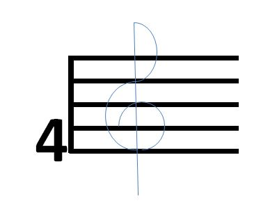 How to Draw a Treble Clef Sign (Even If You\u0027re a Terrible Artist)
