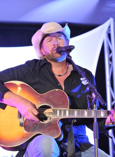 Toby Keith performs during the NMPA's annual meeting
