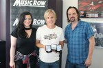 Marv Green Collects Three MusicRow No. 1 Challenge Coins