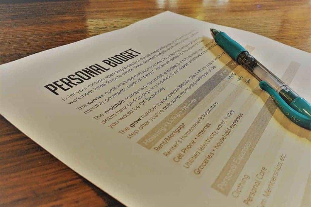 Creating a Personal Budget + Worksheet! - Music Studio Startup