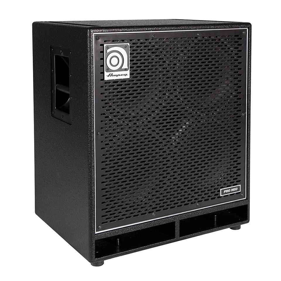 Ampeg Pro Neo Pn 410hlf Bass Cabinet