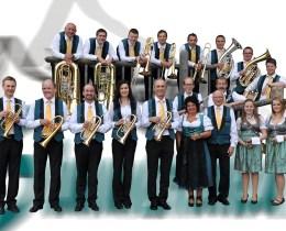 Die Blaskapelle Simmerinka spielt beim 2. SOMMERNACHTSFEST der MK Mieming  am 13. August 2016