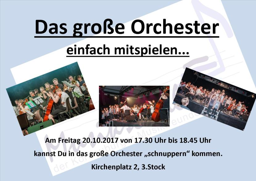 grosse Orchester