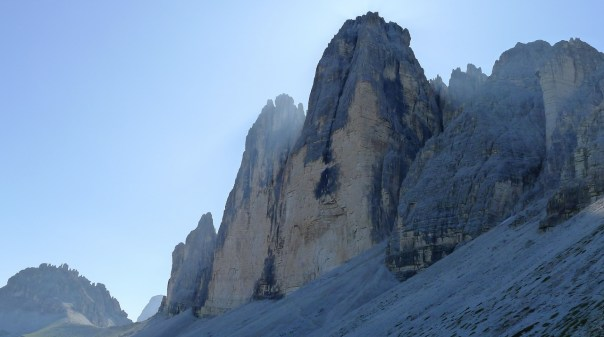 The Tre Cime. Photo- Calum Muskett