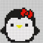 Pingvin med Sløjfe