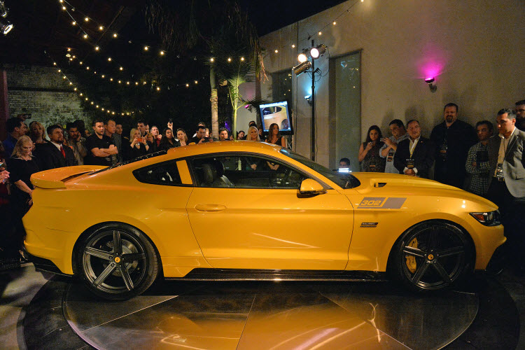 Matte Black Wallpaper 2015 Saleen S302 Black Label Mustang Revealed 2015