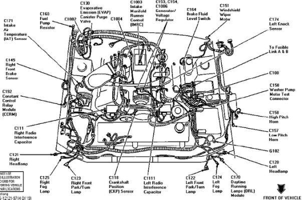 2000 mustang gt engine diagram