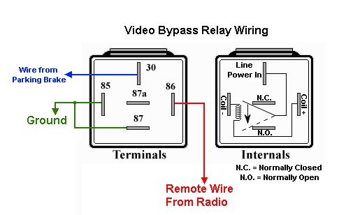 double relay wiring diagram