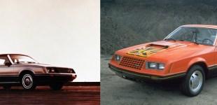 Rys. 3. Od lewej: wersja Ghia oraz wersja Cobra