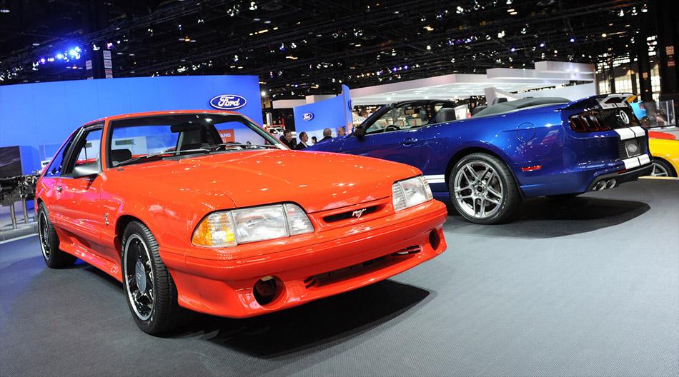 Cobry na Chicago Auto Show / zdjęcie mustangsdaily.com