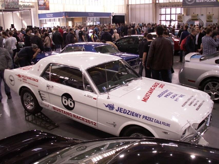 Klasyczny Mustang przygotowany do Mustang Race 2012