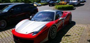 Ferrari-458-Challenge - autor zdjęcia Maciej Chajski