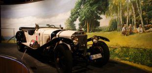 WeiBer Elefant Mercedes S - 1927r - autor HAJ$U