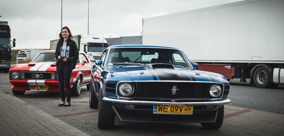 Ten piękny Mustang czekał na zwycięsce w Warszawie
