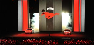 Ladies and Gentleman - the all new Ford Mustang
