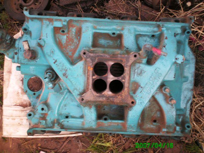 Ford and Mustang Intake manifold