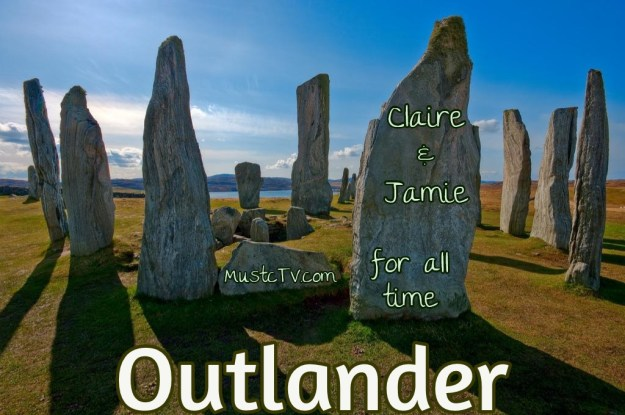 outlander stone circle with text