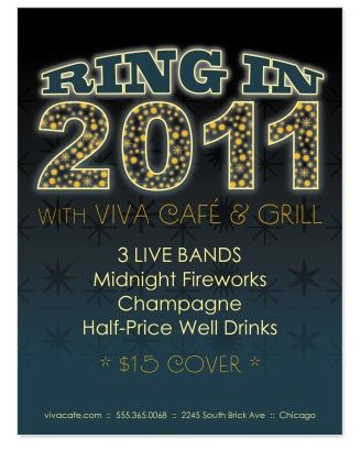 Design of the Week New Year\u0027s Eve Flyer + Promotion Ideas