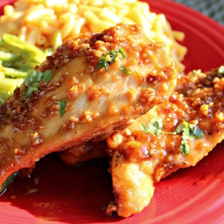 Garlic and Honey Chicken