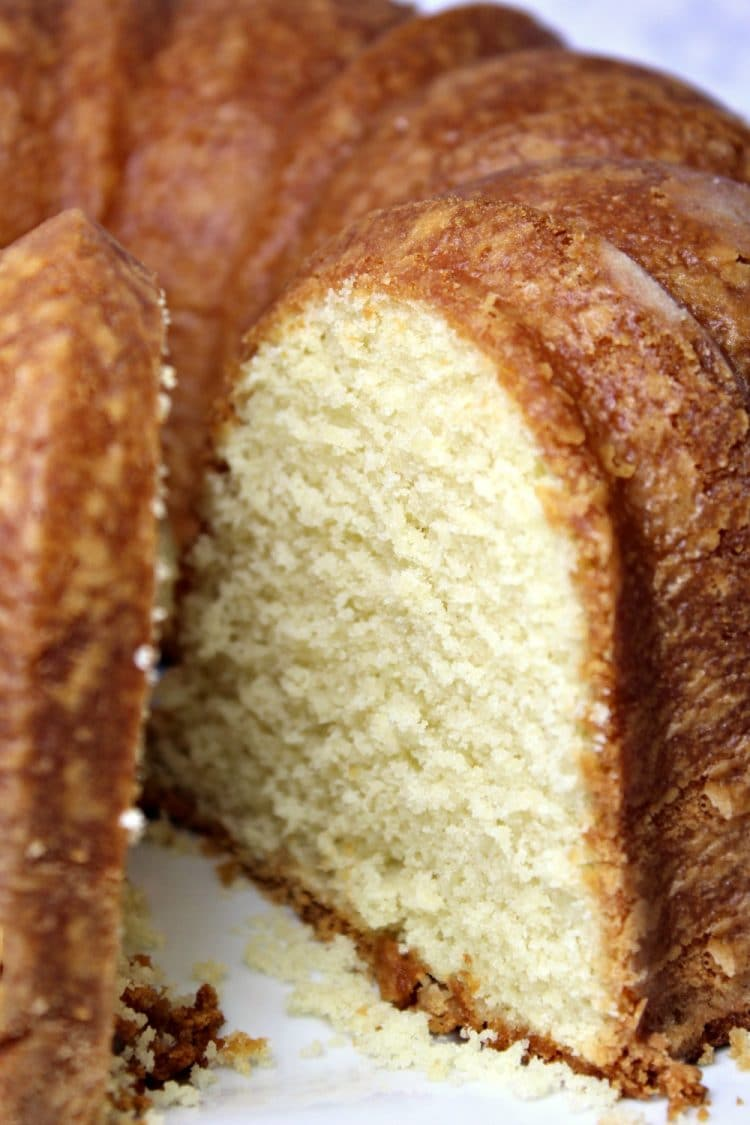 Perfect Pound Cake is buttery and sweet, with a hint of vanilla. This ...