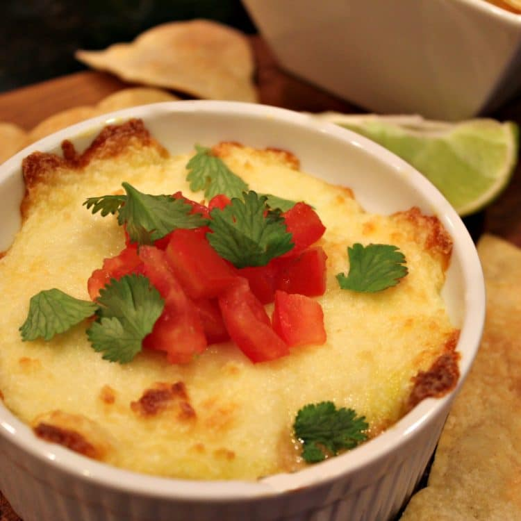 Tequila-Infused Queso Fundido Recipe — Dishmaps