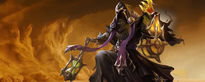 Heroes Evolved Hd Wallpaper Rov แนวทางการเล่น Azzen Ka จอมเวทย์ทรายสุดโฉด Cc แน่น