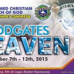 RCCG Holy Ghost Congress 2015