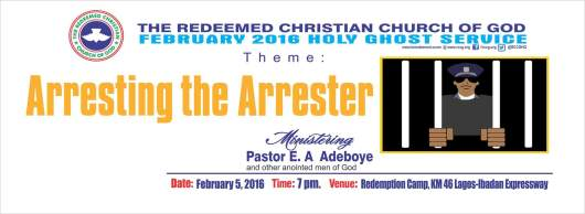 RCCG February 2016 Holy Ghost Service(1)