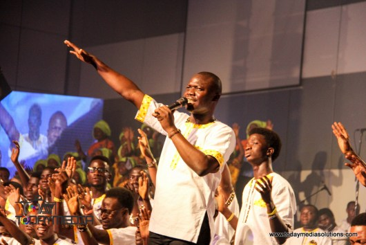 Kunle Kenny at RCCG 74 hours Marathon Messiahs Praise_