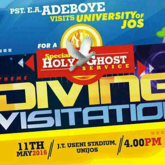RCCG Special Holy Ghost Service Jos May 2016