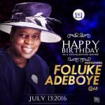 Pastor Mrs Folu Adeboye 68th birthday