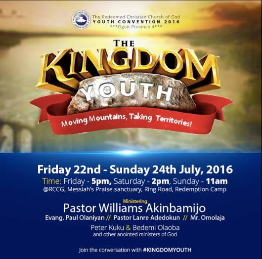 RCCG Ogun Province 4 Youth Convention 2016