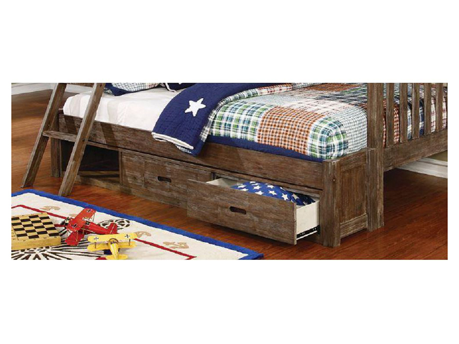 Wood Under Bed Storage In Gray Shop For Affordable Home