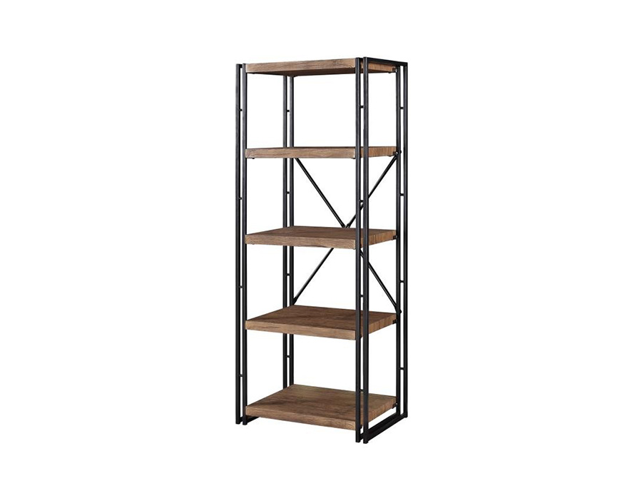 Metal And Wood Bookcase Shop For Affordable Home