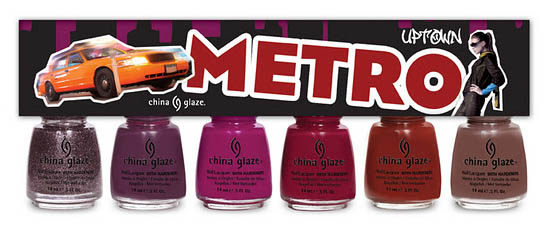 China Glaze Nail Polish Metro Collection