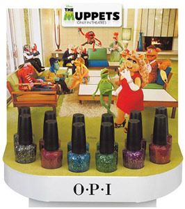 OPI Muppets nail polish collection