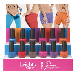 OPI Bright Pair and Paige Premium Denim