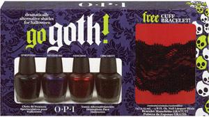 OPI Go Goth Halloween 2010 nail polish