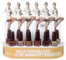 OPI Radio City Rockettes