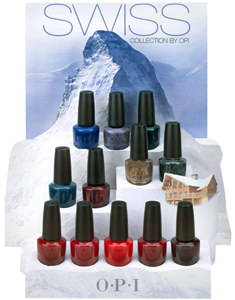 OPI Swiss collection