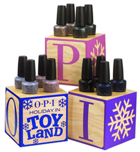 OPI Holiday in Toyland nail polish 2008