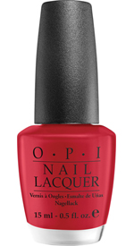 OPI A Oui Bit of Red nail polish