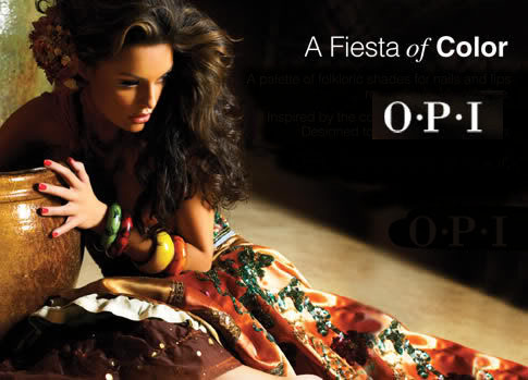 OPI Mexico collection 2006