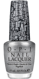 OPI Silver Shatter top coat