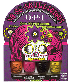 OPI So So Skullicious Halloween 2012